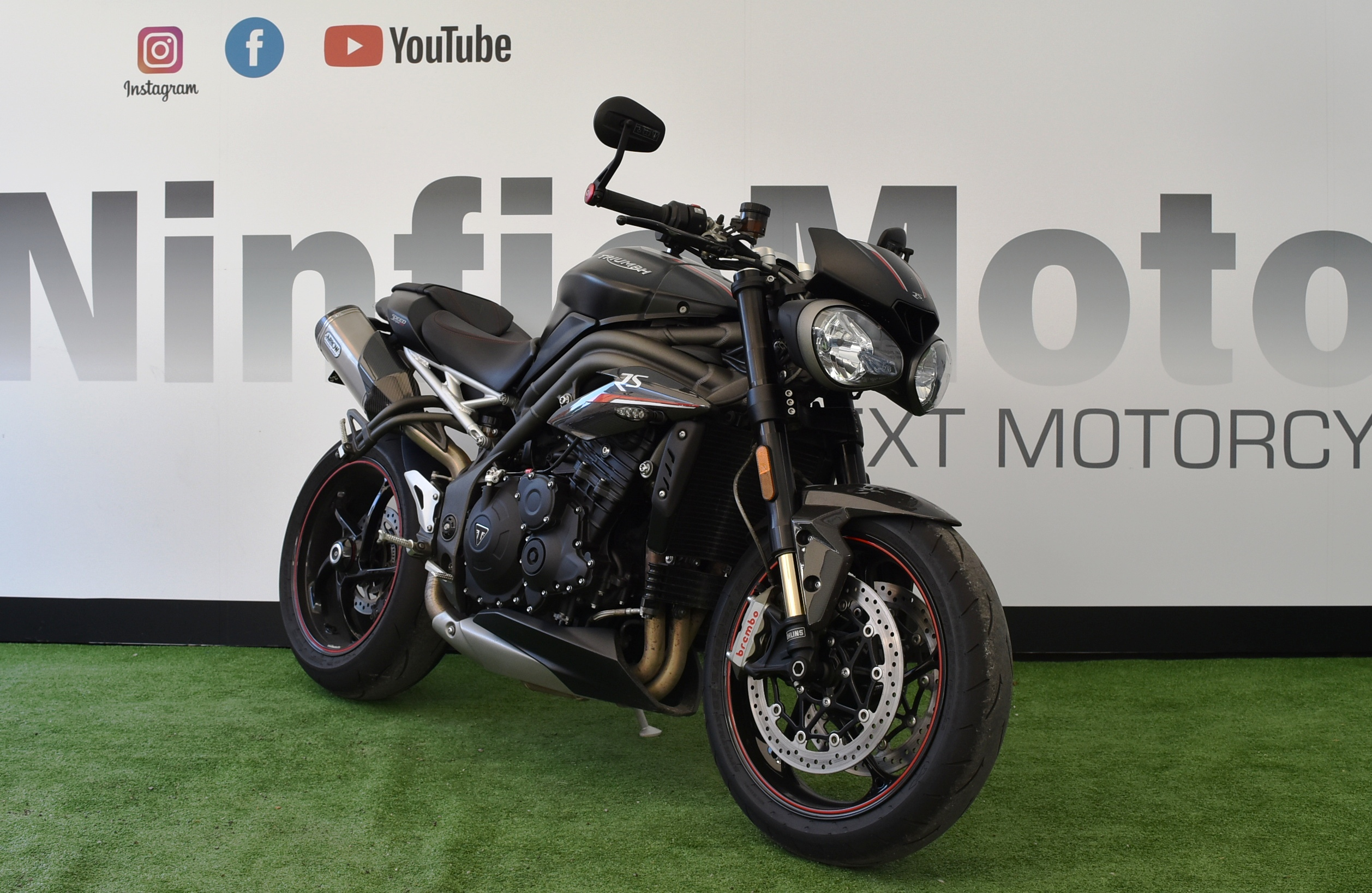TRIUMPH SPEED TRIPLE 1050 RS – 2018
