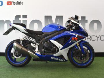 SUZUKI GSX R 600 – 2008